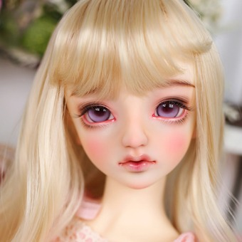 ball jointed doll make up dollsn Nornen No.4